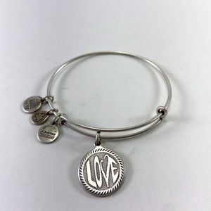 Alex and Ani bracelet, silver